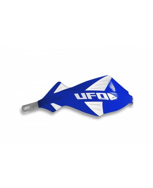 Защита рук UFO DISCOVER  с алюминиевым каркасом , для руля диам 22 мм, цвет синий