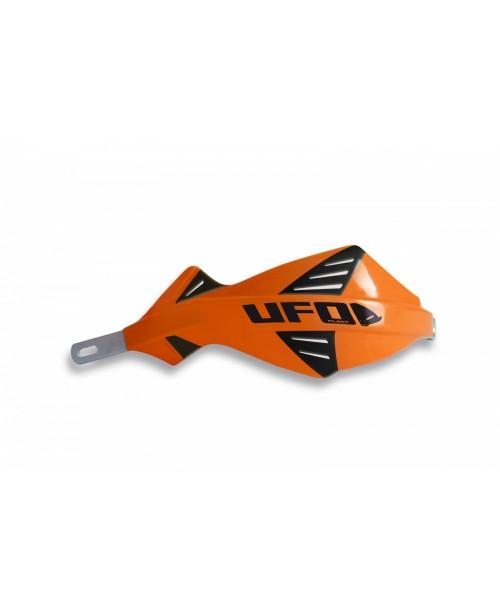 Защита рук UFO DISCOVER  с алюминиевым каркасом , для руля диам 22 мм, цвет оранжевый