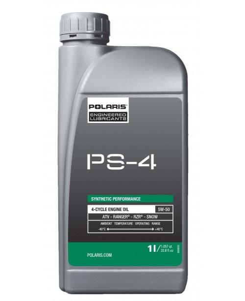 Масло моторное Polaris PS-4 синтетическое 5W50 1л 502484