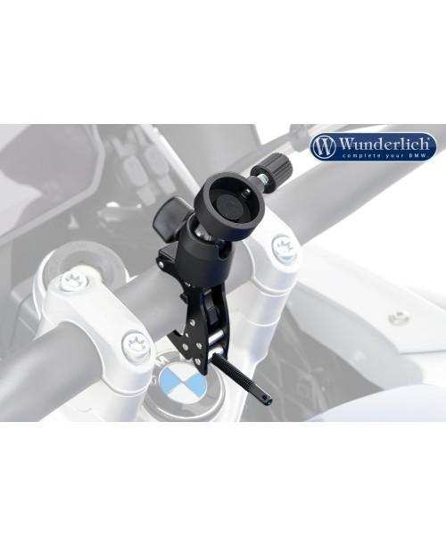 Универсальный держатель для телефона или камеры с креплением на руле