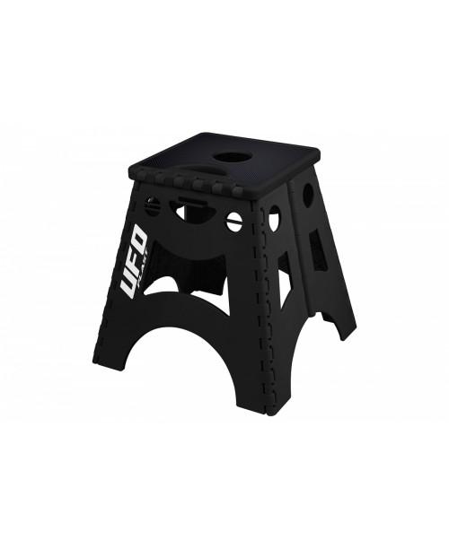 Подставка стул под кроссовый мотоцикл UFO PLAST  складывающийся черный