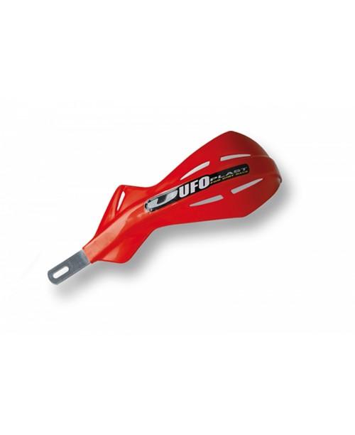 Защита рук UFO ALU,  с алюминиевым каркасом , для руля диам 22 мм, цвет красный
