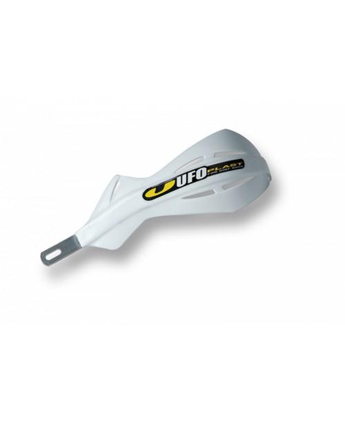 Защита рук UFO ALU,  с алюминиевым каркасом , для руля Pro-Tape 28 мм, цвет белый