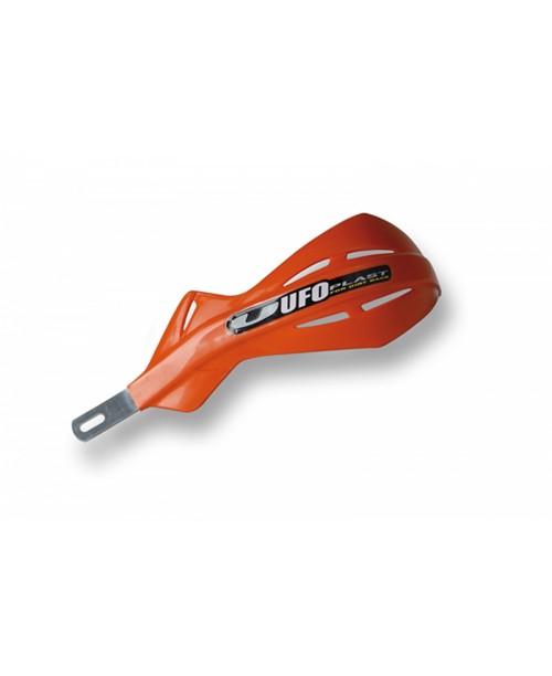 Защита рук UFO ALU,  с алюминиевым каркасом , для руля Pro-Tape 28 мм, цвет Оранжевый