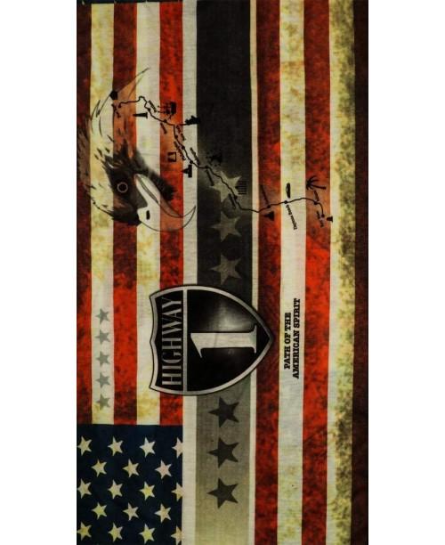 Баф Modeka Multifunctional tube, Highway USA Flag
