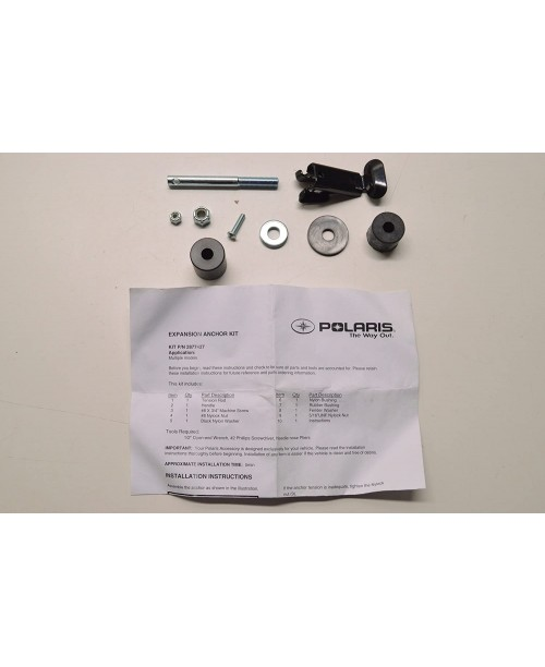 Комплект зажима переднего пластика Polaris Hilifter прав/лев