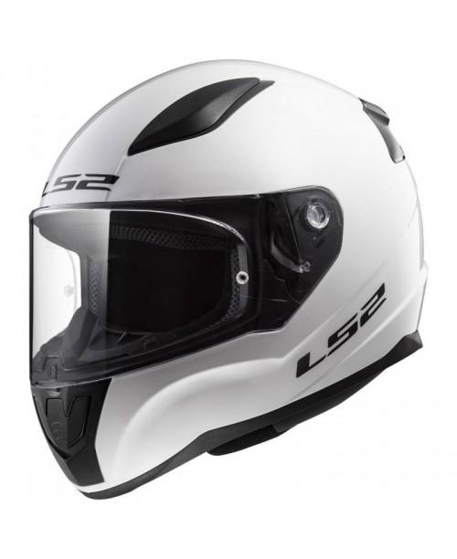 Шлем детский LS2 RAPID MINI SOLID цвет белый