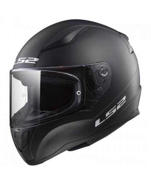 Шлем детский LS2  RAPID MINI  MAT цвет черный