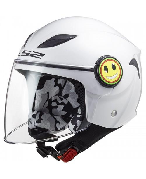 Шлем детский LS2 FUNNY KID цвет белый