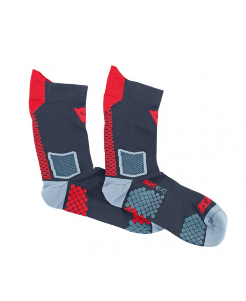 Носки DAINESE D-CORE MID SOCK BLACK/RED